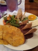 La Hacienda, plantanes, frijoles, Honduran food, tourism, Honduras,