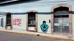 Captain America, Tegucigalpa, Honduras, political resistance, graffiti, Honduras itinerary, One day in Tegucigalpa, reproductive rights, women