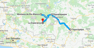 Honduras, Tegucigalpa, Honduras tourism, Honduras itinerary, La Esperanza, journalism, Elizabeth McSheffrey