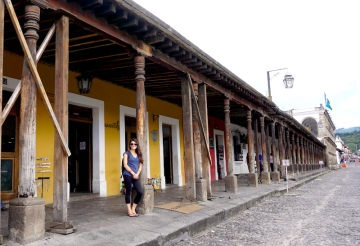 Portal de las Panaderas, Antigua, Guatemala, Elizabeth McSheffrey, Elizabeth Around the World, Elizabeth McSheffrey journalist, Antigua itinerary, Guatemala itinerary