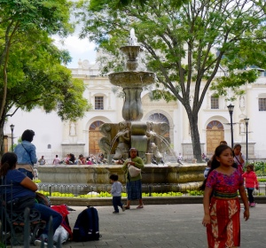 Parque Central, Antigua, Fuente de las Sirenas, Guatemala, Antigua itinerary, things to do in Antigua, Guatemala itinerary