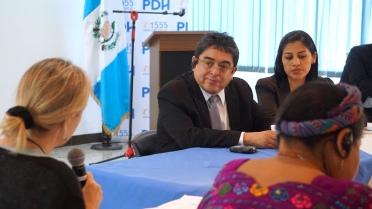 Jordán Rodas Andrade, Guatemala, human rights, Nobel Women's Initiative, Rigoberta Menchu Tum, corruption, journalism, Guatemala, Elizabeth McSheffrey