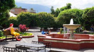 McDonald's, Antigua, Guatemala, tourism Guatemala, tourism Antigua, things to see in Antigua, Antigua itinerary