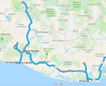 El Salvador, El Salvador travel, El Salvador tourism, El Salvador itinerary, Elizabeth Around the World, El Cuco, El Tunco,