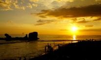 El Tunco, El Salvador, Papaya Lodge, travel El Salvador, El Salvador itinerary, Elizabeth Around the World, sunset