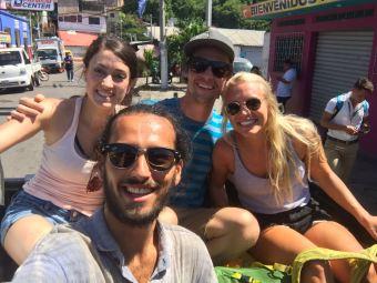 El Tunco, El Salvador, Papaya Lodge, travel El Salvador, El Salvador itinerary, Elizabeth Around the World, Elizabeth McSheffrey, hitchhiking in El Salvador,